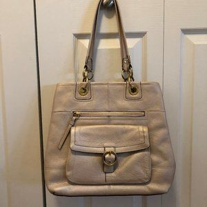 COACH BAG LEATHER IN LIKE NEW CONDITION.